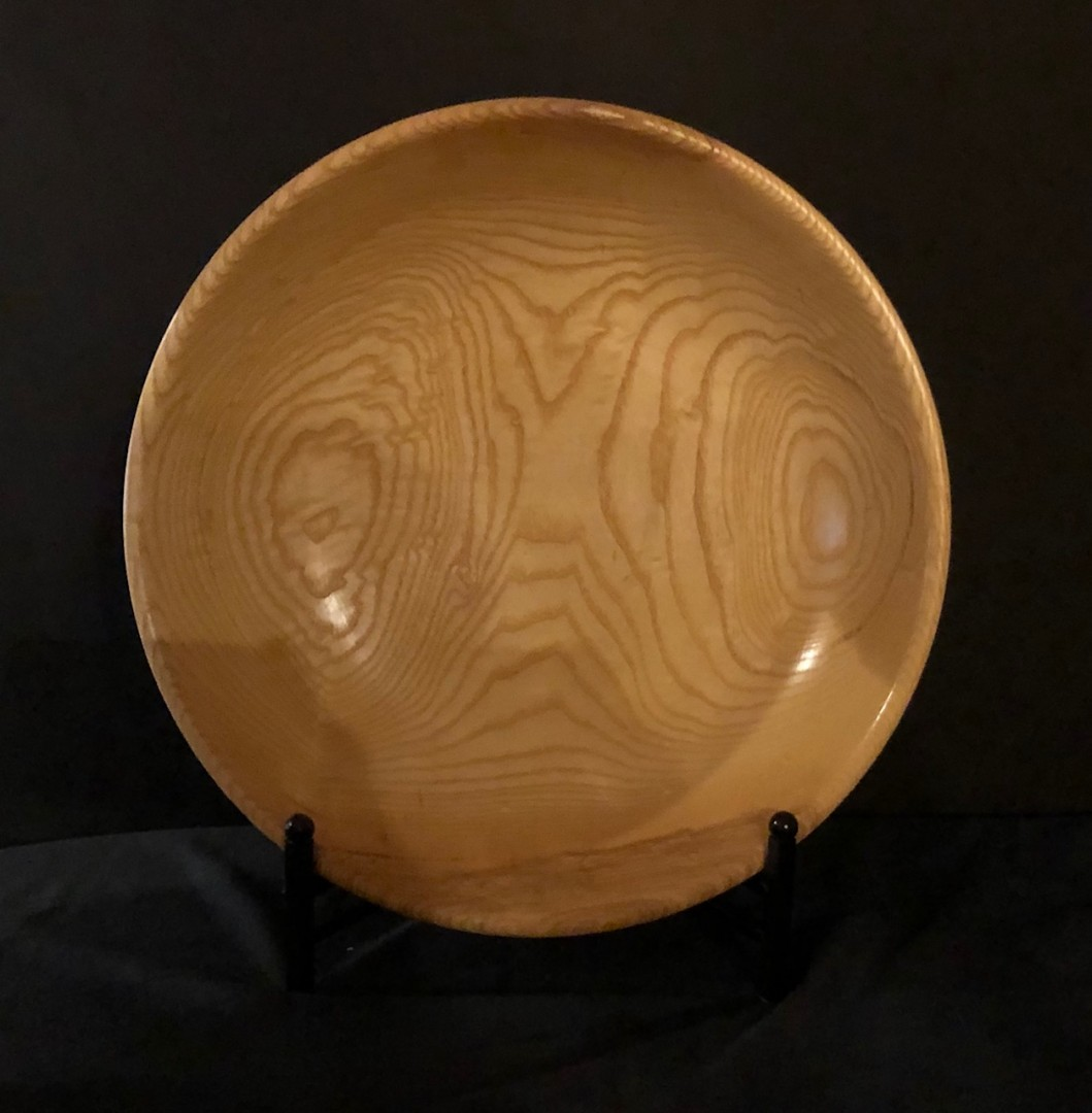 Hand-Turned Ash Bowl