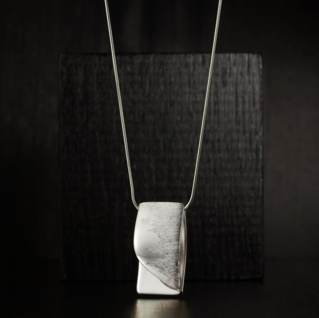 Abstract Bar -handmade- sterling silver