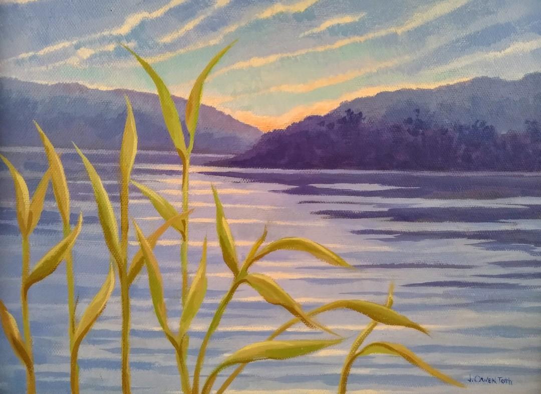 Berkshire Pond Sunset