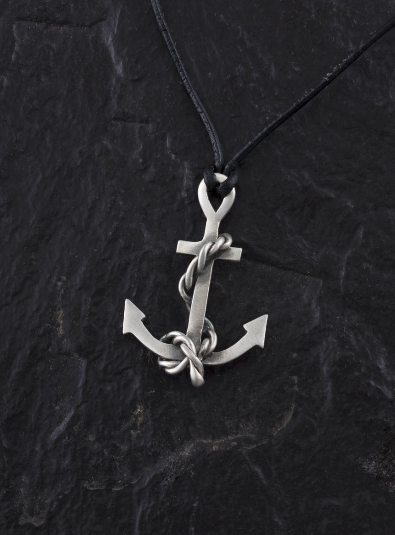Anchor -handmade- sterling silver