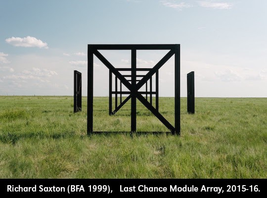 Richard Saxton (BFA 1999),   Last Chance Module Array. Last Chance, Colorado. (Modules No. 4, 5). With Onix Architects, Groningen, the Netherlands. 2015-2016.
