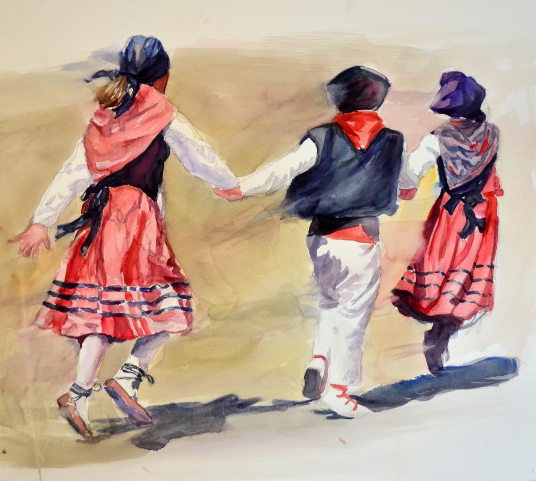 Basque Children Dance