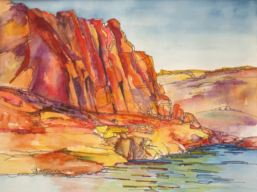 Warm Canyon Color