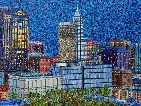 Downtown Raleigh: City at Night