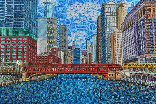 Chicago: Wells Street Bridge