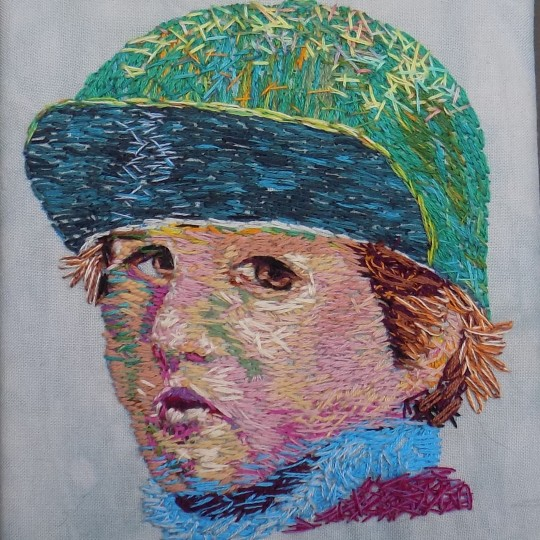 Boy in a Green Hat