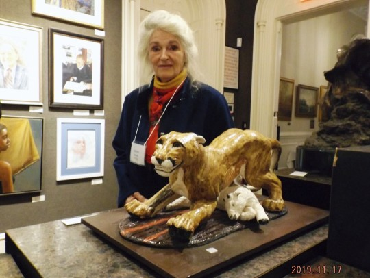 AAPL 2019 Grand National Excellence Award Sculpture -- Young Mother Caught Out