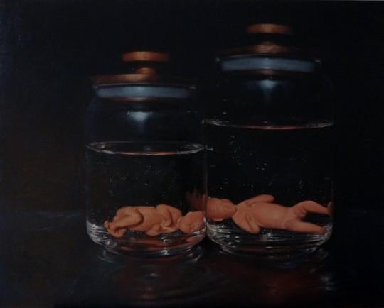Babies in Jars