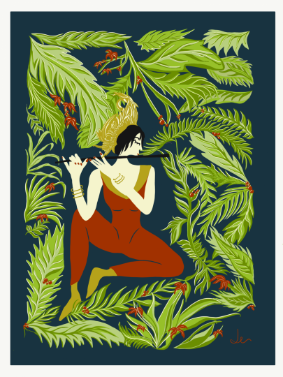 """Girl in the Trees"""