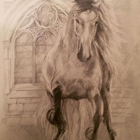 Gothic Horse