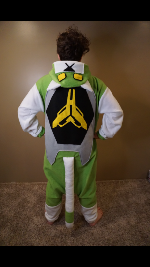 Green Lion Onesie