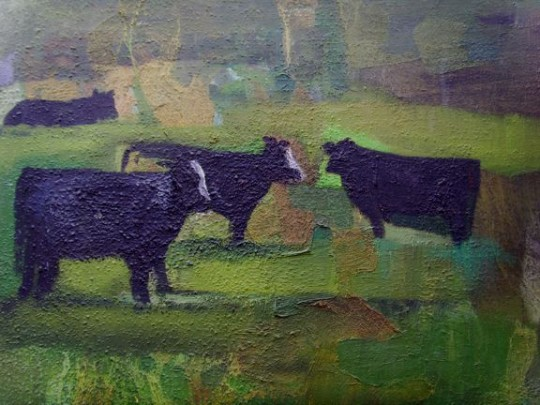 Some Old Black Cows