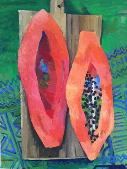Papaya, UnStill Life