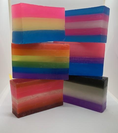 Pride Flag Soap
