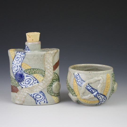 Flask and Cup Set