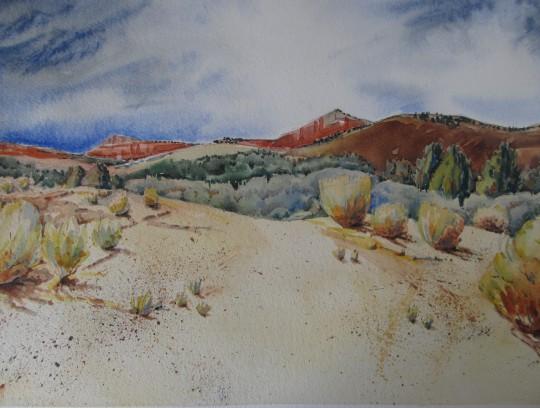 ...and God made a mountain near Tropic, Utah