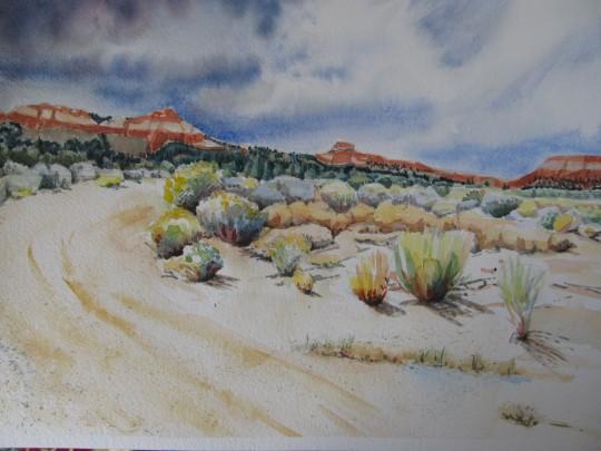 ...and God made a mountain near Tropic, Utah 2