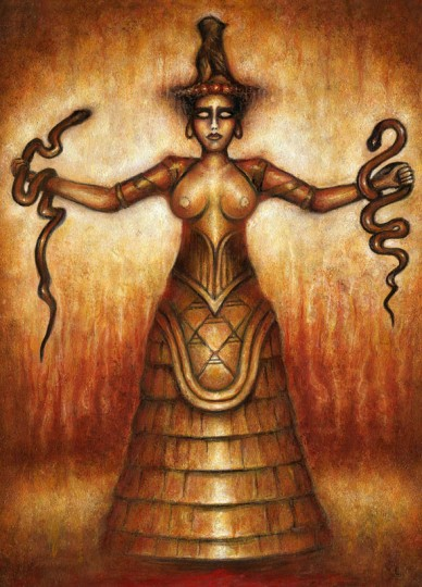 Minoan Serpent Goddess