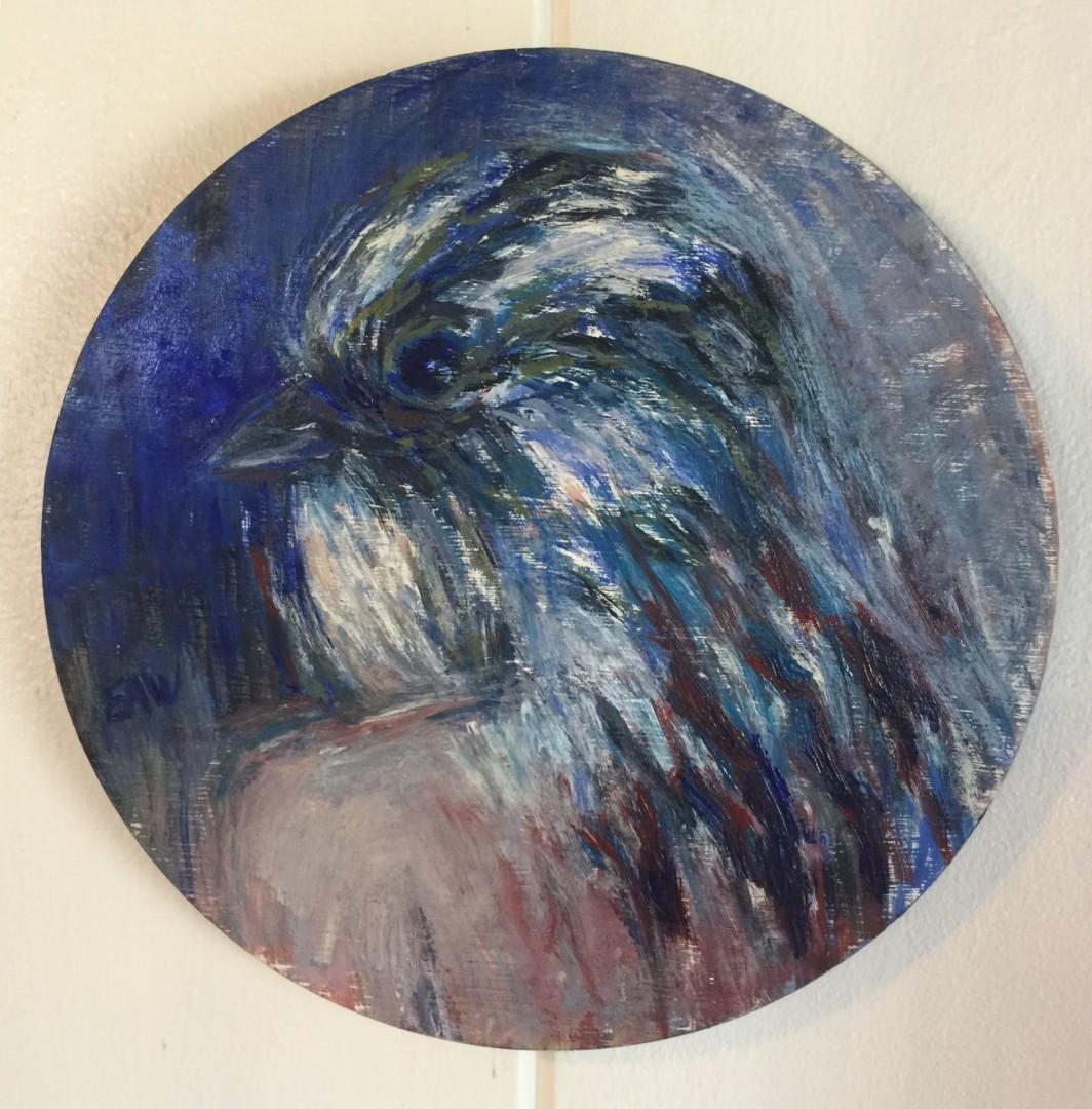 Blue Spirit Bird