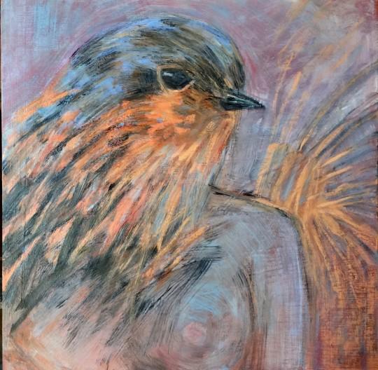 Robin Self Portrait