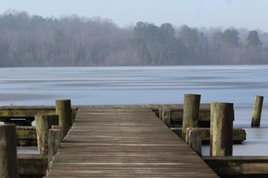 Killens Pond Frozen