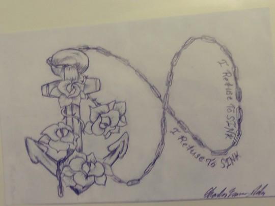 Tarah's tattoo