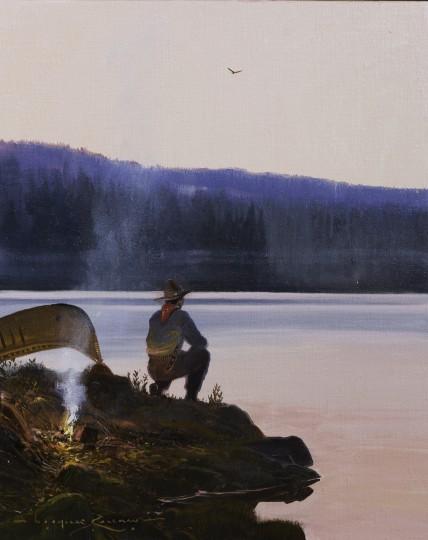 Dusk on the Salt River