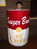 Soup Can Costume