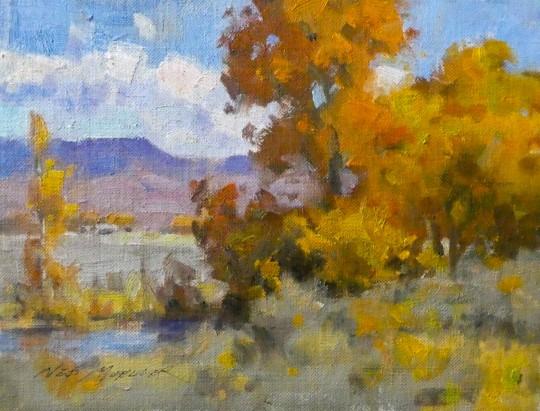 Wyoming Autumn