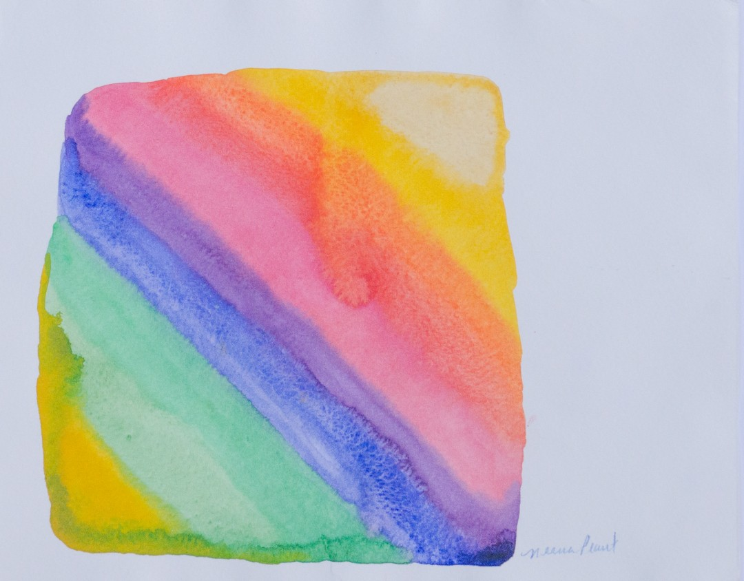 Rainbow Stone - artwork by Neena Plant: