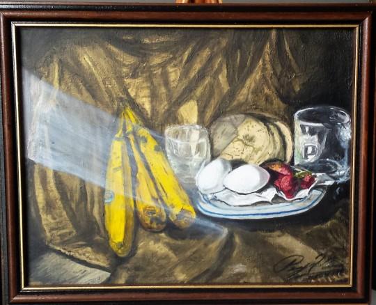 Artist's Breakfast-Still Life #4