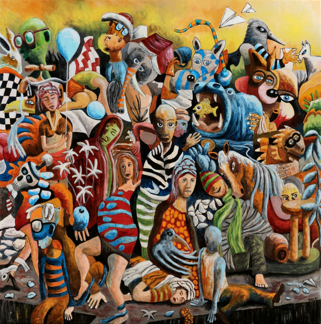 Genesis - artwork by Filipe Assuncao:  Other, Other, Acrylic, Canvas