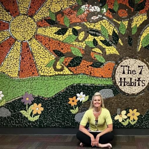 7 Habits Mosaic Mural