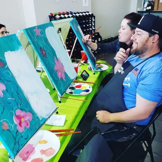 Art Party Pics