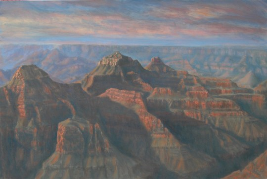 Morning Along the Canyon