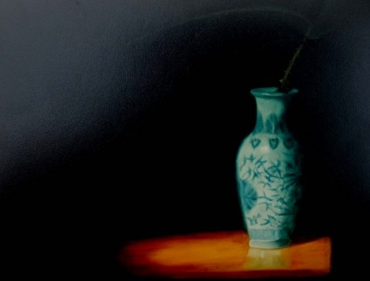 The Blue and White Vase