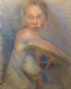 Nude-Pastel Study