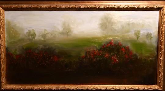 Foggy Morning Roses