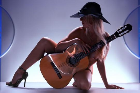 La Guitarrista