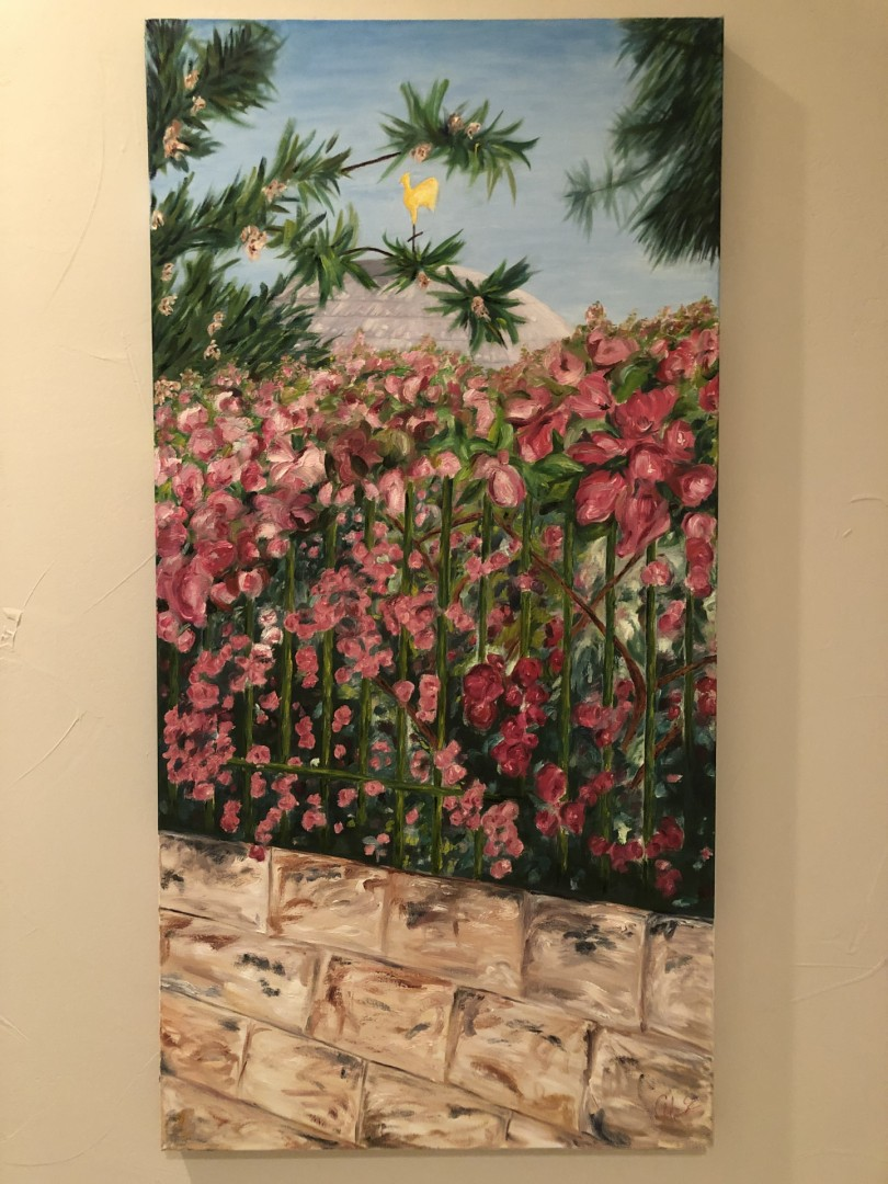 Beauty of Gallicantu - artwork by Cary Hancock:  Landscape, Oil, Canvas