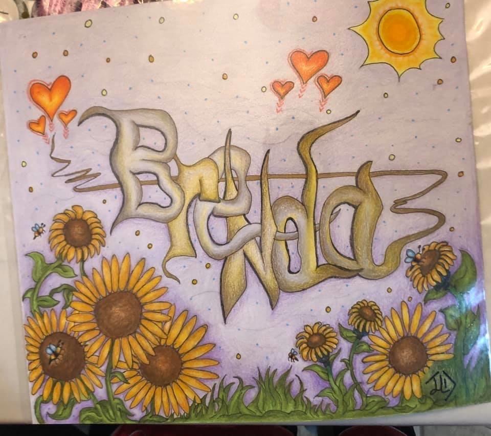 Graffiti Name-Brenda