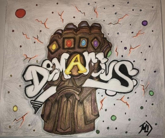Graffiti Name-Demarcus