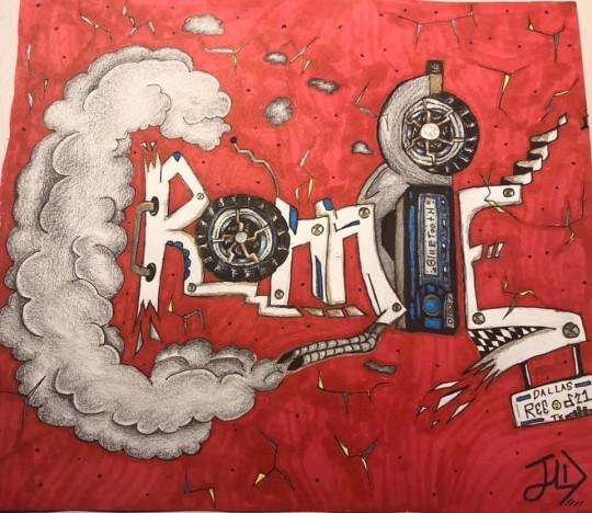 Graffiti Name-Ronnie