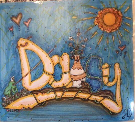 Graffiti Name-Daisy