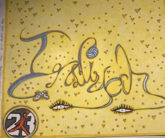 Graffiti Name-Indiyah