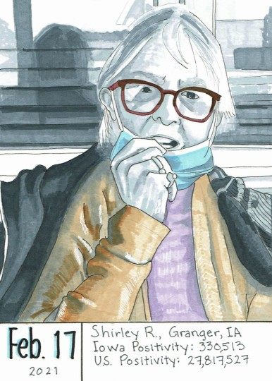 Masked Portrait - Shirley R.