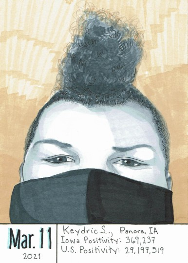 Masked Portrait - Keydric S.