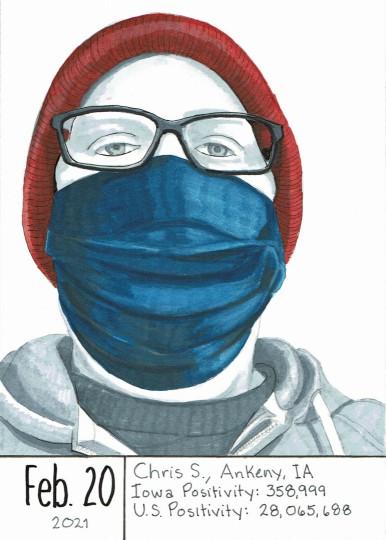 Masked Portrait - Chris S