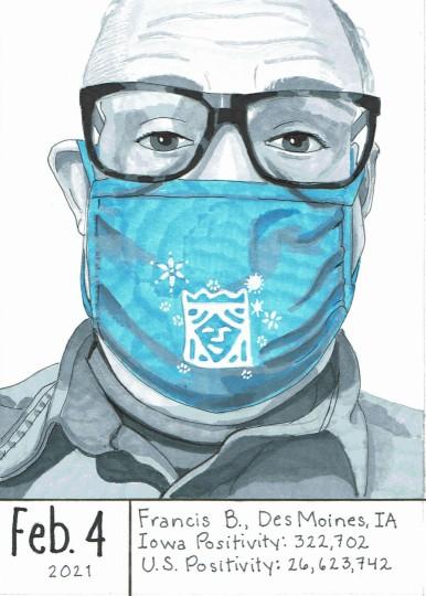 Masked Portrait - Francis B.