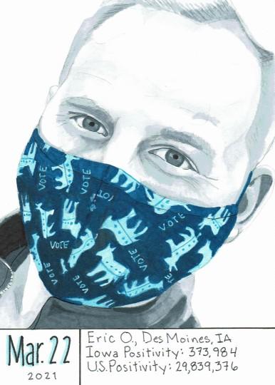 Masked Portrait - Eric O.